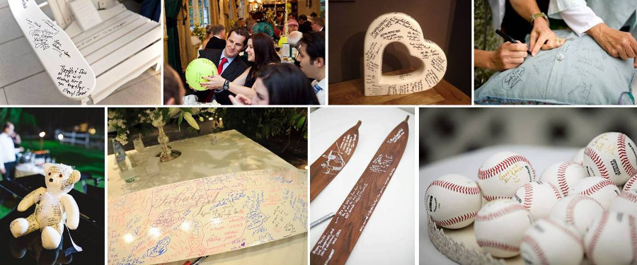 Предметы интерьера с пожеланиями молодым на свадьбе
