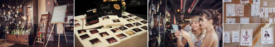 Моментальные фотографии - развлечения гостей на свадьбе