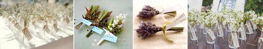 карточки для рассадки в букетах цветов