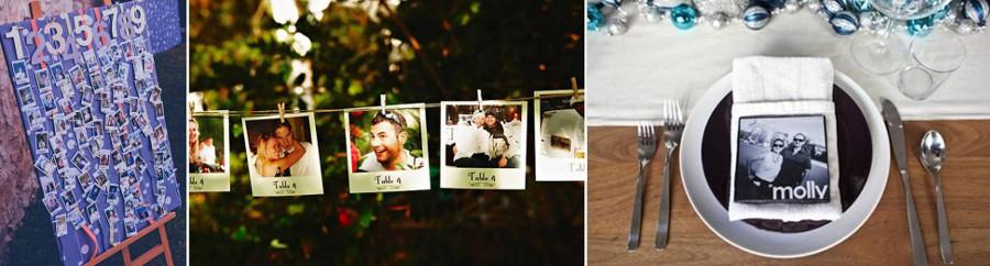 карточки для рассадки гостей с фото самих гостей