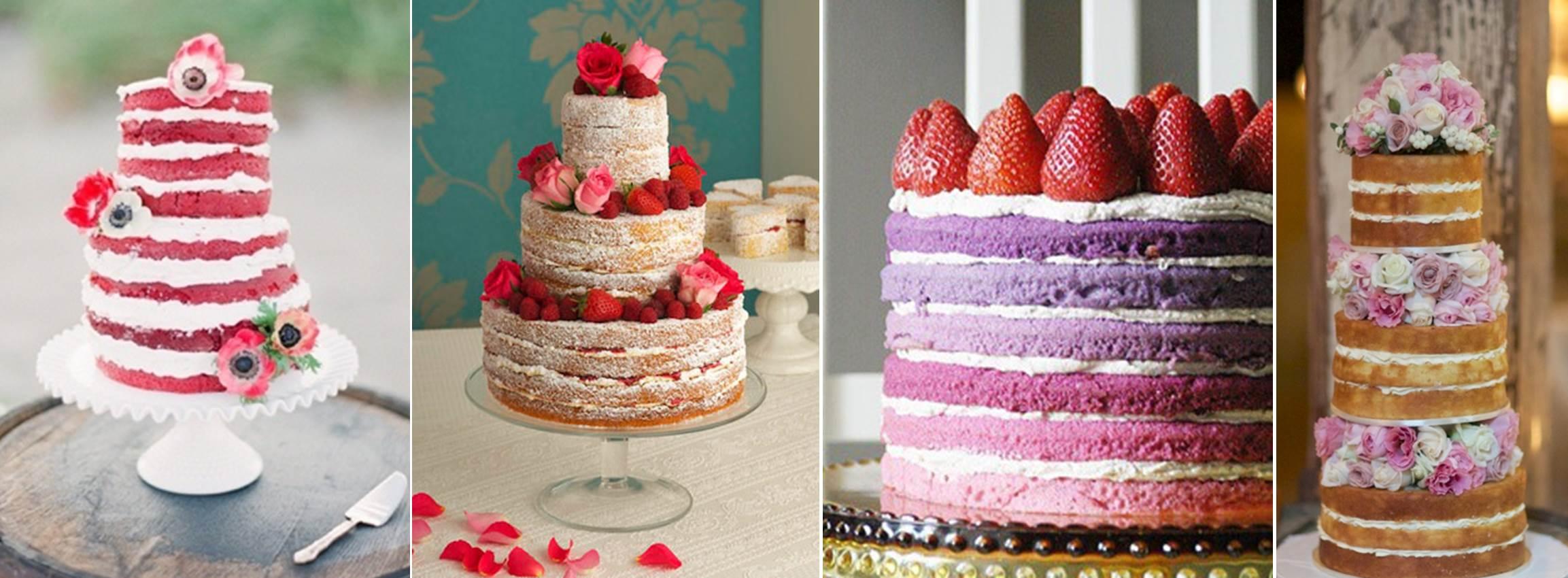 Так голый торт на свадьбу